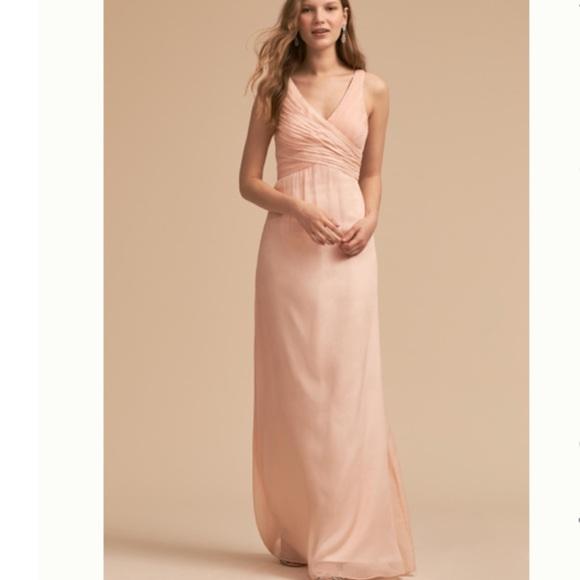 c0635e5a938b5 BHLDN Dresses | Anthropologie Formal Dress In Blush Sz S | Poshmark